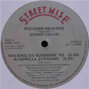 Rockers Revenge Featuring Donnie Calvin - Walking On Sunshine '82 download free